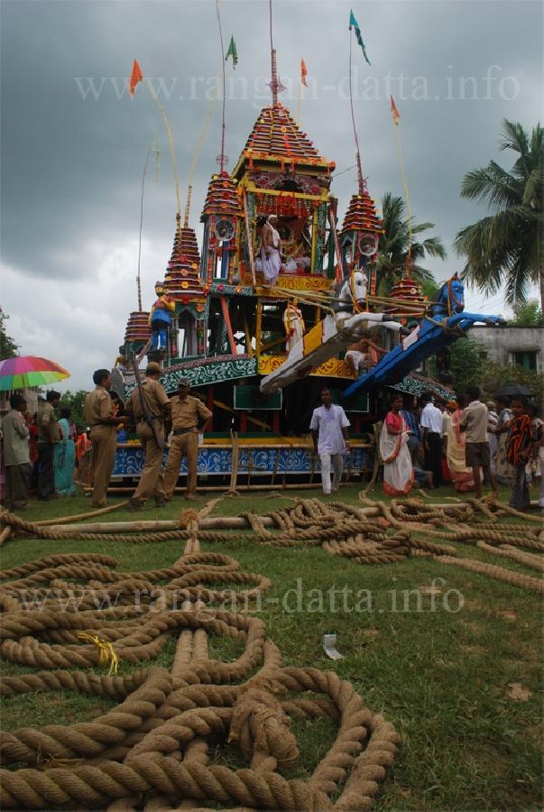 Guptipara Chariots Amp Temple Rangan Datta