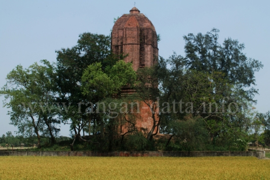 Jatar Deul, Towering above the Agricultural Fields