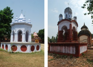 Rash Mancha (left) & Dol Manch (right)