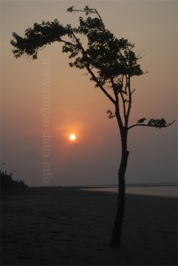 Sunrise, Bakkhali Beach