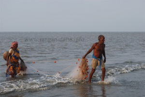 Fishing Activity, Bakkhali Beach