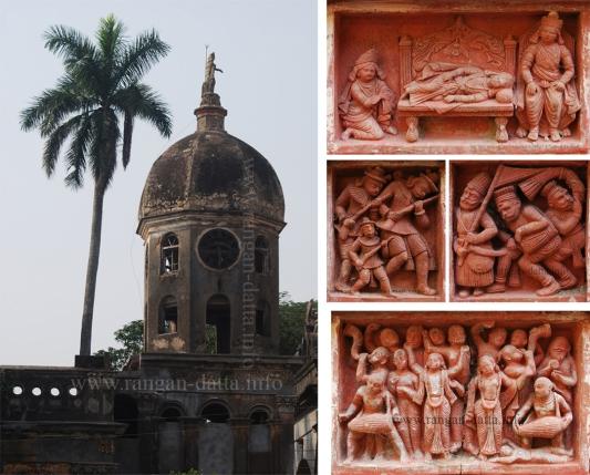 Clock Tower & Terracotta Panels, Dasghara
