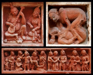 Terracotta Panels from Gopinath Temple, Dasghara