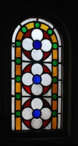 Stained Glass Window, Beth El Synagogue, Calcutta