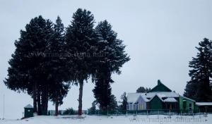 Gulmarg during snowfall
