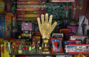 Shops selling object of worship