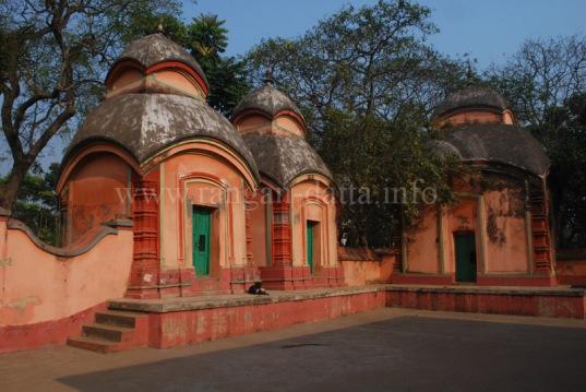 Shiv Temples at Rajballavi Temple Complex
