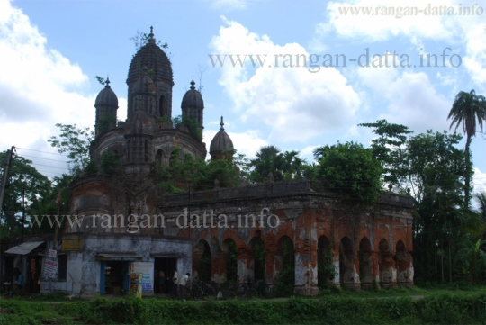 Nabaratna styled Gopinath Temple, Bawali
