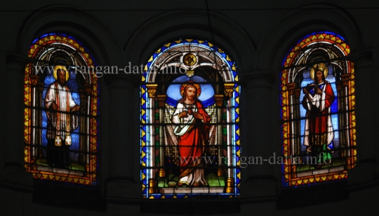 Stained Glass, Sacred Heart Church, Chandannagar