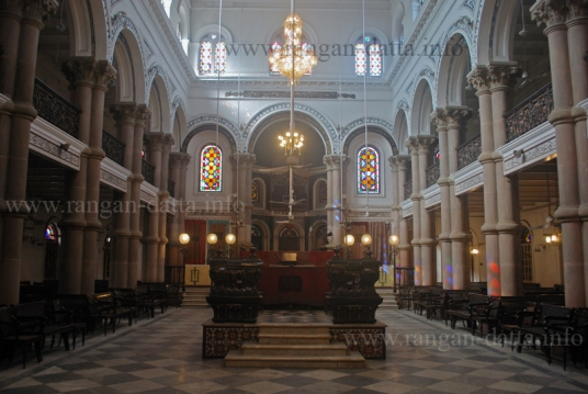 Interior Magen David Synagogue, Kolkata (Calcutta)