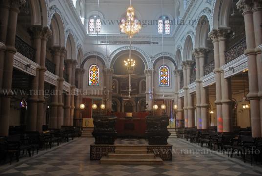 Interior Magen David Synagogue, Kolkata (Calcutta)