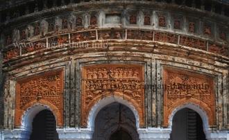 Triple Arch Panel, Damodar Temple, Duttapara, Joypur