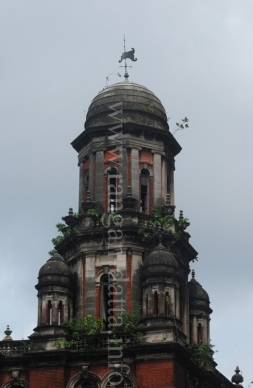 Domed Tower of Standard Life Assurance Building, Kolkata (Calcutta)