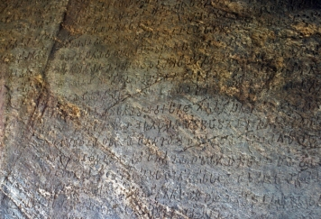 Portion of Ashokan Rock edict