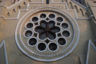 Exterior decoration, St. James' Church, Calcutta