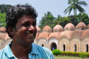 At the Ambika Kalna 108 Temple Complex (Photo: Akash Mondal)