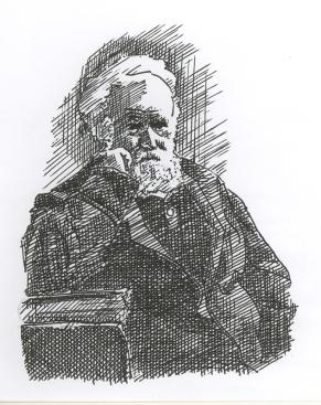 Pierre Jules Cesar Janssen (Sketch Courtsy: Biamn B Nath)
