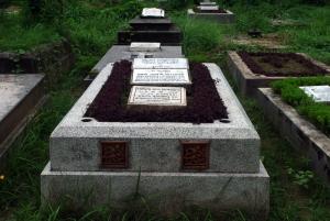 David McCutchion' Grave, Bhabanipur Cemetery, Kolkata