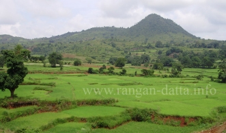 Araku Valley, viewed from Kirandul Fast Passenger