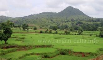Araku Valley, viewed from Kirandul Fast Passenger