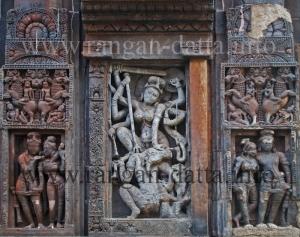 Durga Panel, Vaital Deul, Bhubaneswar, Orissa
