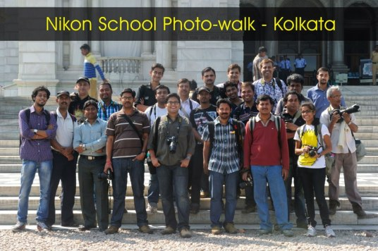 Nikon School Photowalk Kolkata, Group Photo (Photo Courtsey: Anindo Basu)