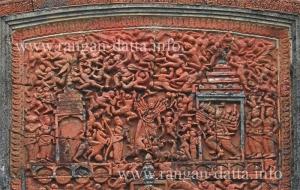 Rama Ravana War, Terracotta Hadal Narayanpur