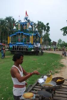 Food Stall, Rajbalhat Ratha Yatra