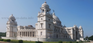 Victoria Memorial, Calcutta (Kolkata) (4 X 3 Matrix Panorama)