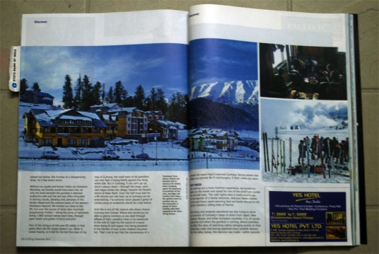 Gulmarg Photos, Jet Wings (Nov. 2012)