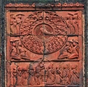 Swayambara of Draupadi, Choto Taraf Temple, Hadal Narayanpur