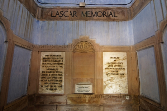 Inside Lascar War Memorial