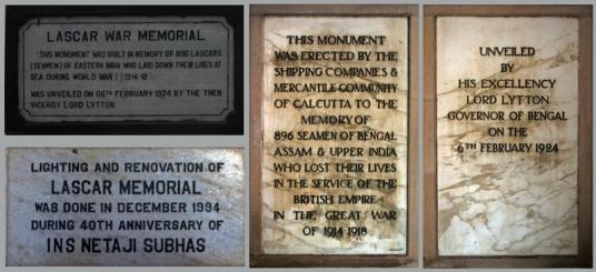 Lascar War Memorial Plaques