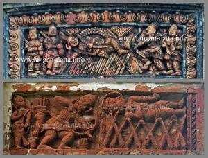Bhishma in bed of arrows (Sarashajya)