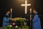 Armenian Good Friday, St. Gregory, the Illuminator chapel, Calcutta (Kolkata)