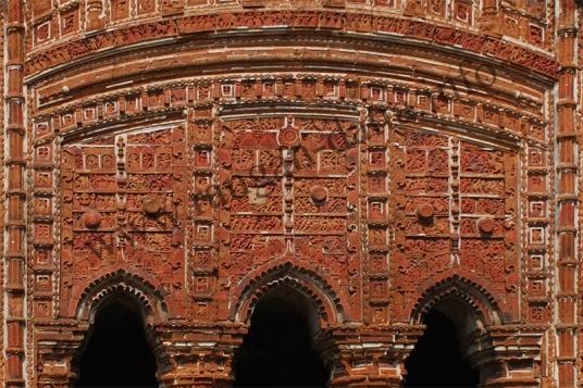 Triple Arch Panel, Rajrajeshwar Temple ~ Kotalpur, Hooghly