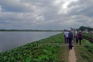 Jane's Walk through East Calcutta Wetland