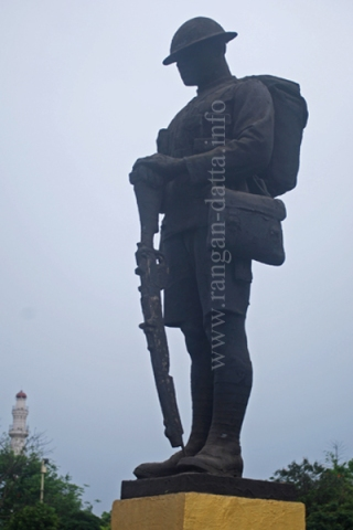 Statue of British Soldier, Glorious Dead Cenotaph