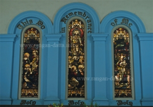 Stained Glass, Old or Mission Church, Calcutta (Kolkata)