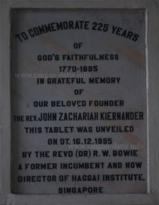 225 years of Mission Church, Calcutta