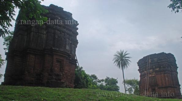Saileswar and Sareswar Temples, Dihar (near Bishnupur), Bankura