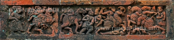 Bishnupur Terracotta Freeze