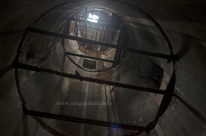 Inside Semaphore Tower near Prabartak Jute Mill