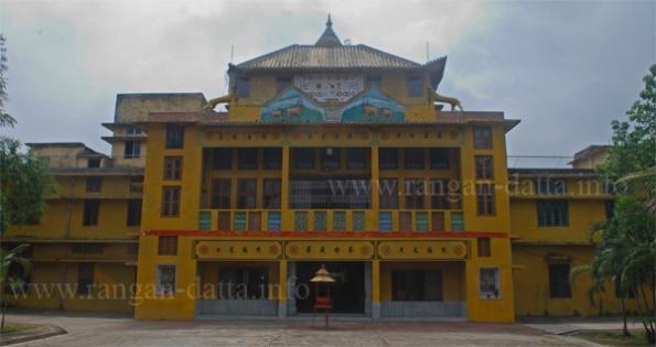Hsuan Tsang Monastery, Paschim Chowbaga (Tiljala), Calcutta (Kolkata)