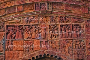 Nandokishore Temple Terracotta, Halisahar