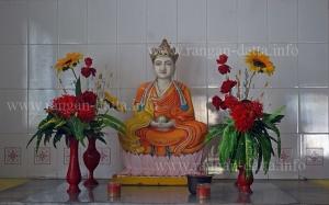 Side Alter, Hsuan Tsang Monastery, Paschim Chowbaga, Calcutta