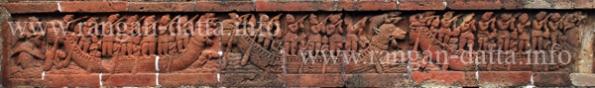 Terracotta Panel, Bishnupur, Bankura