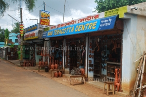 Terracotta and Artifact Shop, Bishnupur