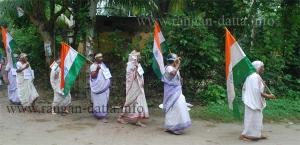 Female Senior Citizen Procession, Shivnibas, Nadia