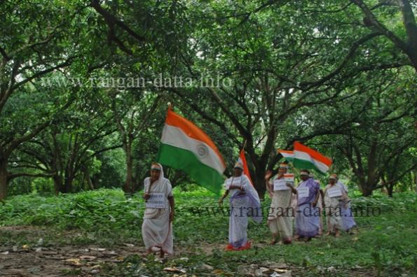 18 Aug. Independence Day Celebration, Shivnibas, Nadia, WB